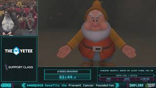 Kingdom Hearts: Birth by Sleep Final Mix HD by KHfan169, RebelDragon95 in 52:22 AGDQ 2018