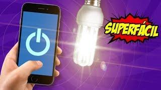 Como ACENDER LAMPADAS pelo CELULAR - Super Fácil 🔧