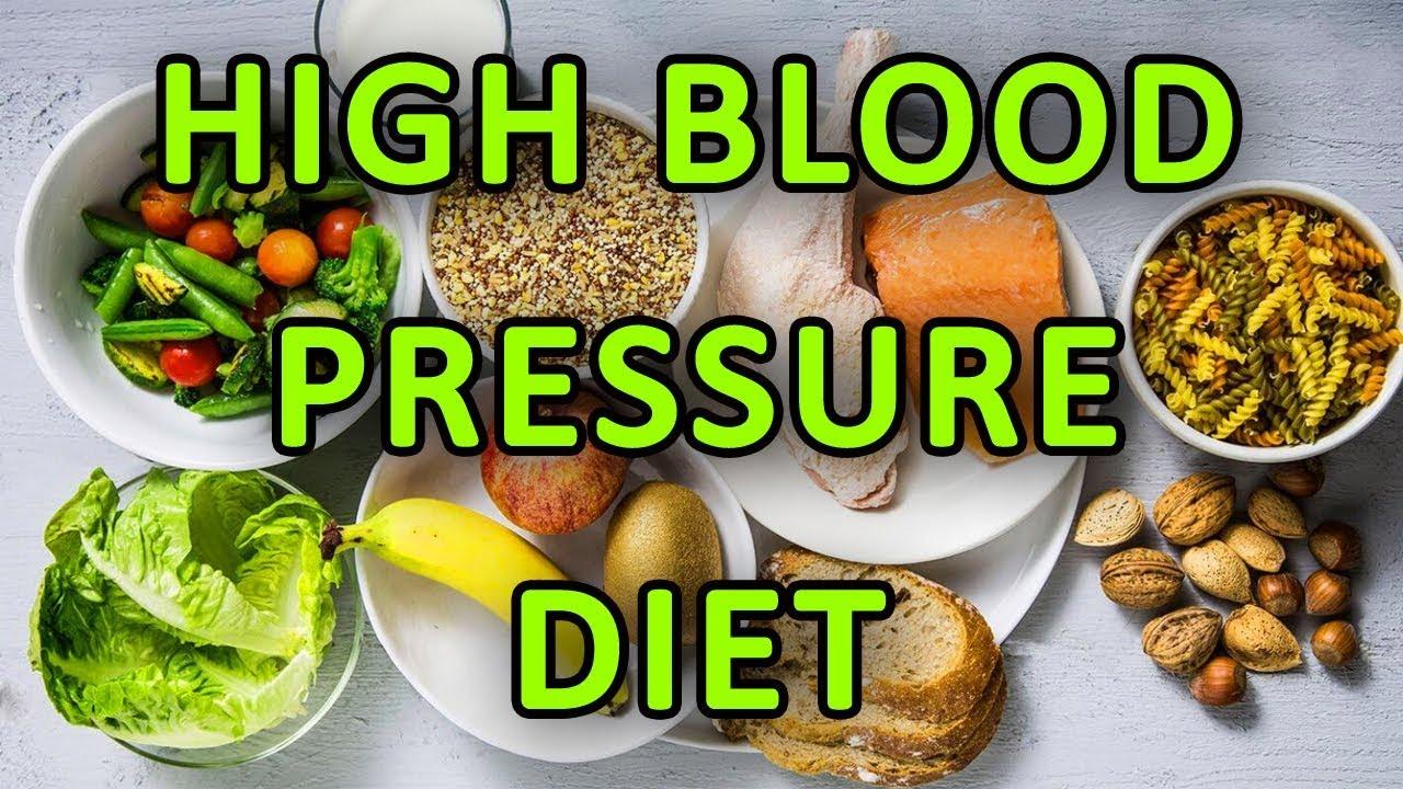high diastolic blood pressure diet list