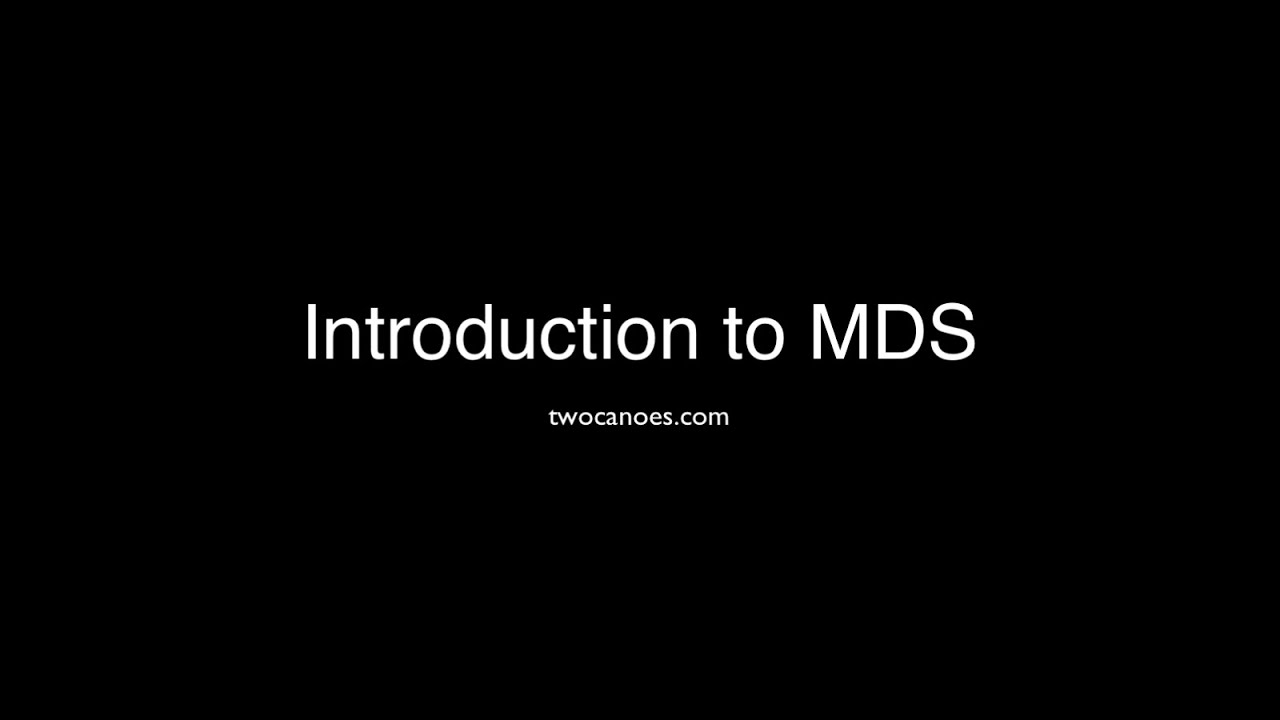 MDS | Twocanoes Software