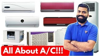 All About A/C - Inverter AC Vs Non Inverter AC? What is Ton? Star Rating? Window AC Vs Split AC?