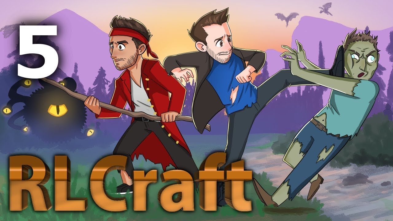 Download Minecraft: RLCraft - Ep. 5 - ONE HOUR AND SIXTEEN MINUTES OF SCREAMING DEATH