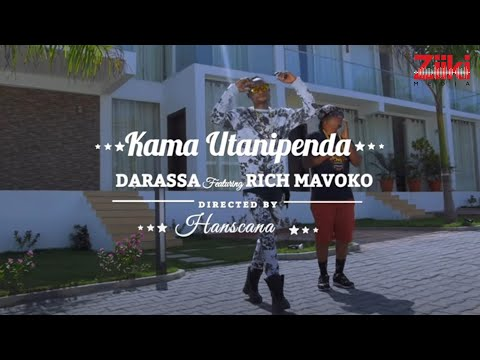 Darassa ft Rich Mavoko  - Kama Utanipenda ( Official Music Video )