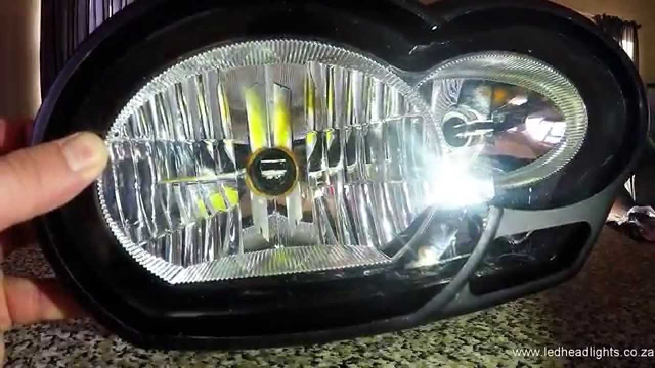 Led Headlight Kit >> How to install a LED headlight replacement kit on a 2009 ...