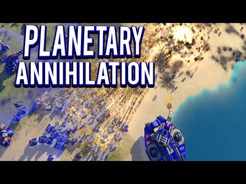 PANZER TANK ASSAULT - LEGION MOD - Planetary Annihilation Titans