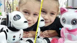 Интерактивная Кошка и Собака робот Smart Pet