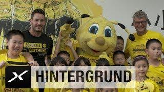 Roman Bürki singt BVB-Hymne mit chinesischen Kindern | Borussia Dortmund auf Asien-Reise