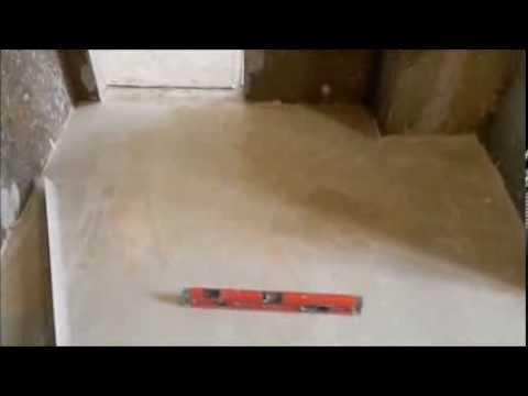 видео: вот так делают стяжку над теплым полом