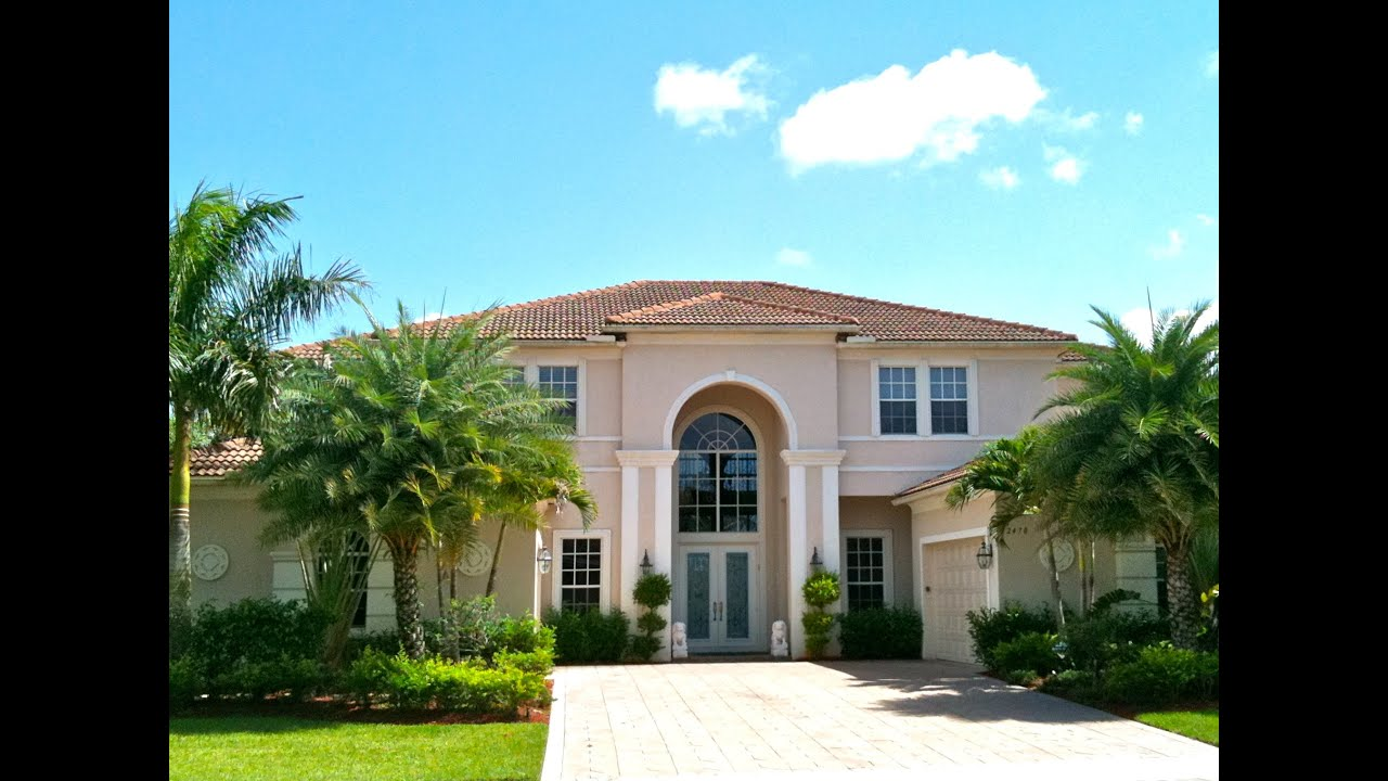 Wellington FL Luxury Home For Sale in Equestrian Club | 12470 World Cup