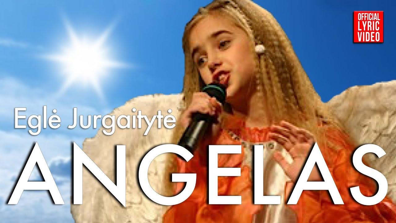 Eglė – Angelas (Official Lyric Video). Lietuviškos Dainos