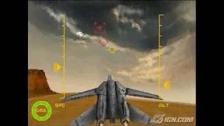 Top Gun (2006) Nintendo DS Gameplay - Off we go.