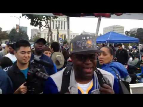 Warriors Parade Oakland Rally Central