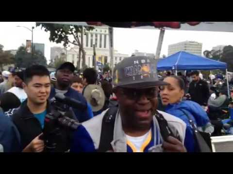 Warriors Parade Oakland Rally Central - Zennie62