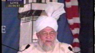 Jalsa Salana USA 1997 - Concluding Session and Address by Hazrat Mirza Tahir Ahmad (rh)