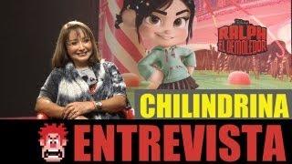 """RALPH EL DEMOLEDOR- Entrevista """"la Chilindrina"""""""
