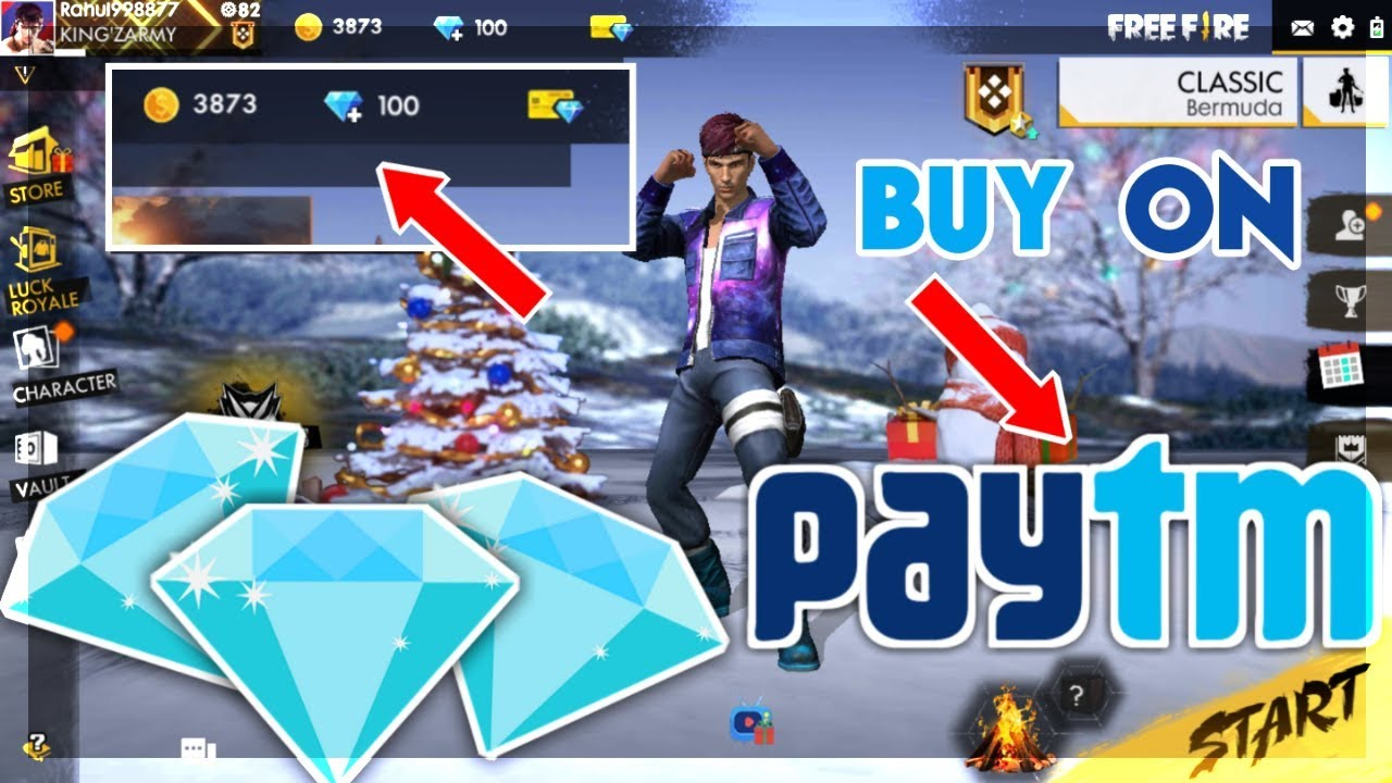 HOW TO BUY DIAMONDS IN FREE FIRE USING PAYTM | FULL PAYMENT METHOD EXPLAIN | FREE FIRE BATTELGROUND