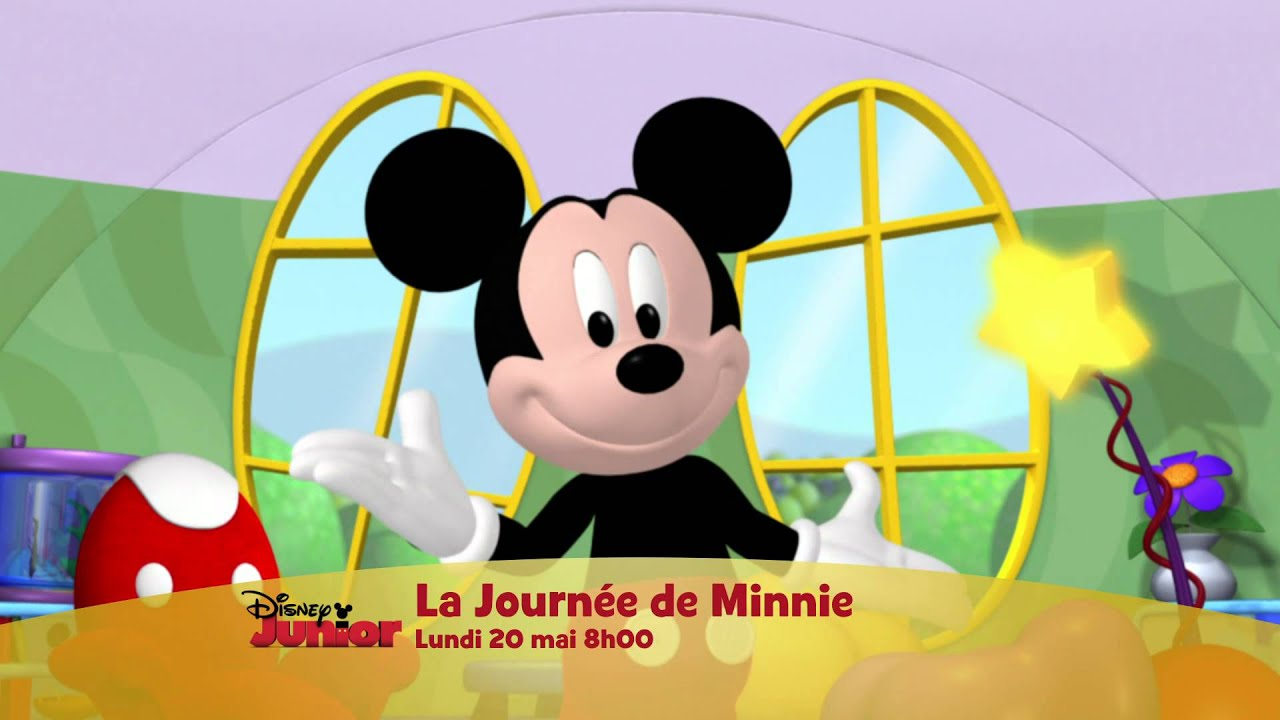 journ e sp ciale minnie la boutique de minnie la maison de mickey lundi 20 mai 8h disney. Black Bedroom Furniture Sets. Home Design Ideas
