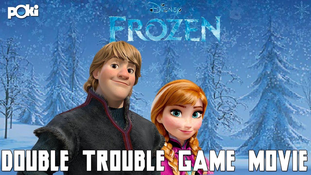 Frozen Double Trouble Poki Game Movie Walkthrough Youtube