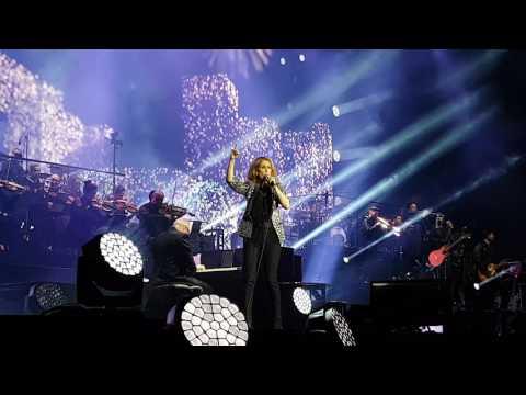 Celine Dion - Dans Un Autre Monde (Overture du Concert) - Nice - 20/07/2017