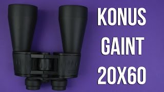 Розпакування Konus Giant 20x60