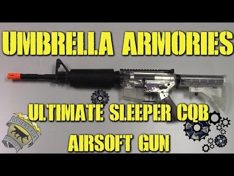 Umbrella Armories: Ultimate Sleeper CQB Airsoft Gun (Ultimate CQB AEG Airsoft Gun)