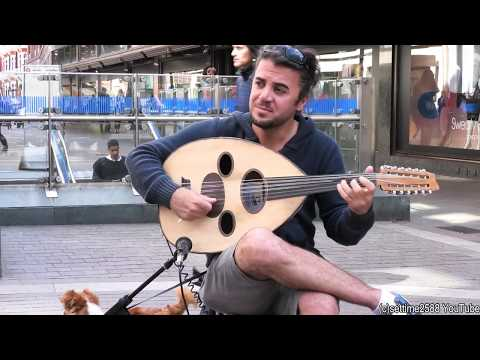 """The """"Oud"""" Musical Instrument from the Middle East. London Street Music"""