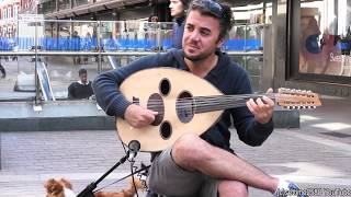 "The ""Oud"" Musical Instrument from the Middle East. London Street Music"