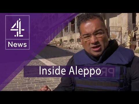 Inside Aleppo: a city divided and awaiting all out war