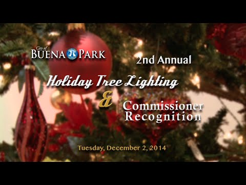 2nd Annual Holiday Tree Lighting 2014