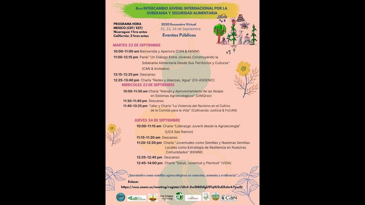 ¡Juventudes como semillas agroecológicas en conexión, armonía y resiliencia!
