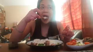 BBQ MUKBANG (EATING SHOW) +watching OPRAH WHERE THEY ARE NOW |AMAZING