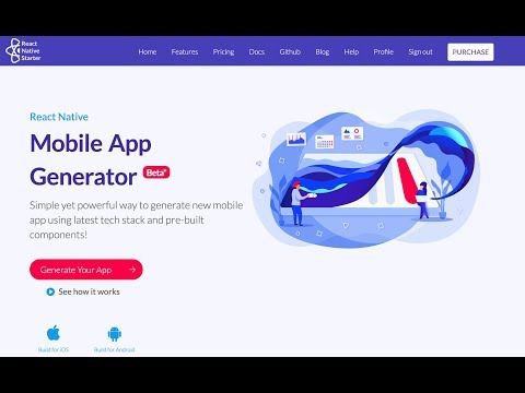 React Native Generator - Create Mobile Application Templates In Few Easy Steps