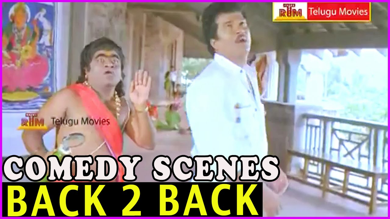 Babu Mohan & Rajendra Prasad Comedy Scenes || Back to Back || Aa Okkati Adakku Movie