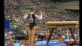 1992 Olympics - Gymnastics Compulsories.. Part 4 - a different perspective.....