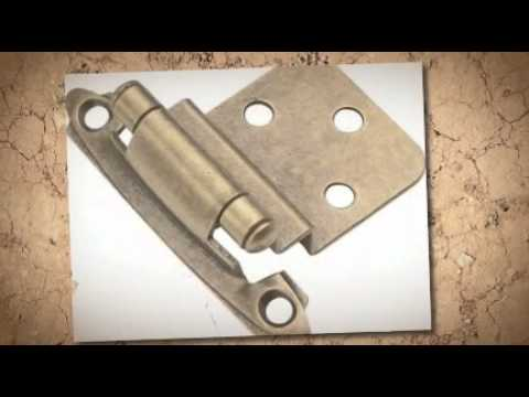 Cabinet Hinges from www.Kitchen-Cabinet-Hardware.com - YouTube