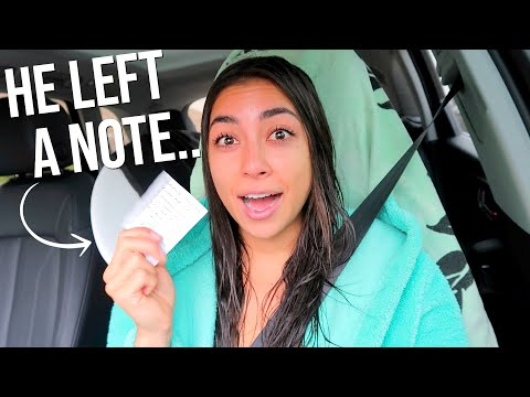 This Guy Left a Note on my Car + Mini Haul
