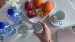 Худею!Как правильно пить воду чтобы похудеть! Минус 3 кг