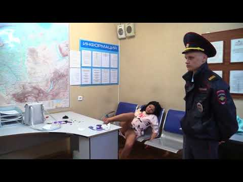 Пьяная москвичка устроила дебош в Толмачево