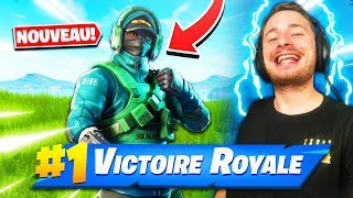 THE SKIN CONTRE ATTAQUE on FORTNITE BATTLE ROYALE !!!
