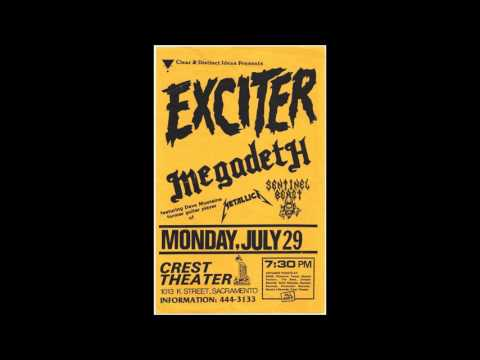 Megadeth- Crest Theater, Sacramento Ca. 7/29/85 Audio only xfer from Master Tape!