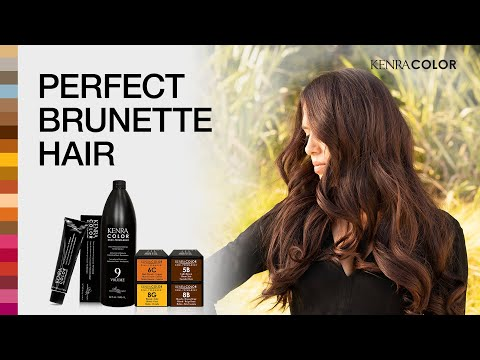 Perfect Brunette Hair | Discover Kenra Color | Kenra Professional