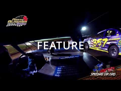#25 CW Brewer - Mini Stock - 7-14-18 North Alabama Speedway - In Car Camera