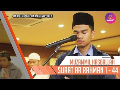 Muzammil Hasballah | Imam Sholat japan | Surat Ar Rahman 1 - 44
