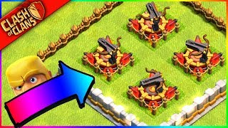 * SO.... I UPGRADED ALL MY X-BOWS AT ONCE IN Clash of Clans? *