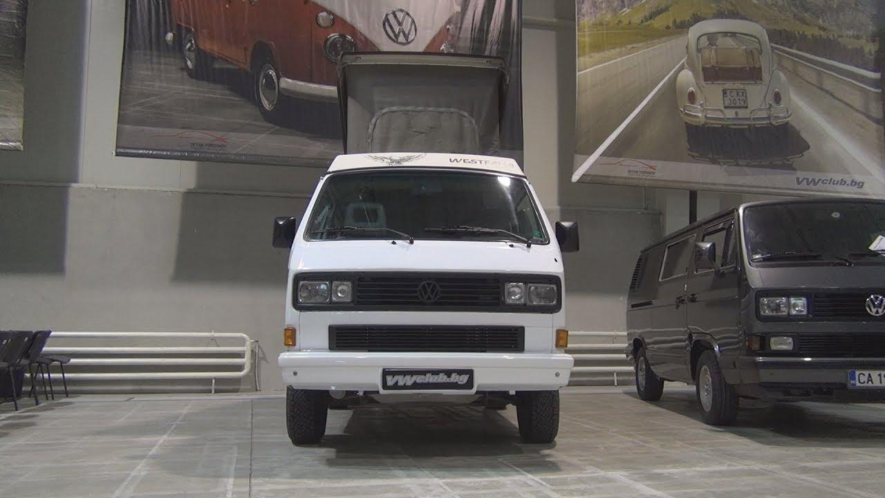 Volkswagen Transporter T3 Westfalia  1990  Exterior And