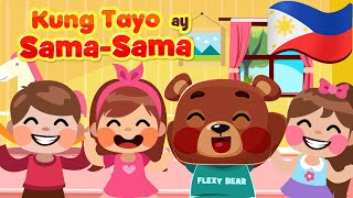 The More We Get Together in Filipino | Awiting Pambata Nursery Rhymes