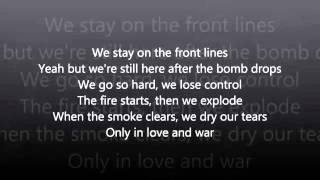 Tamar Braxton Love and War with Lyrics