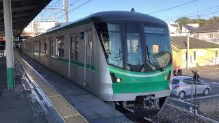東京メトロ16000系55F新松戸発車