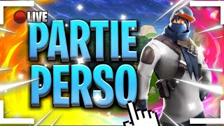 🔴LIVE FORTNITE PART PERSO WITH YOU! LIVE EN / CODE CREATOR: MATRIX2781 ( 100 likes) 🔴
