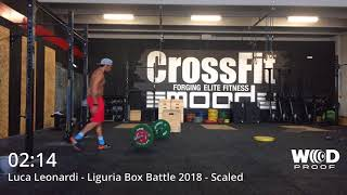 Leonardi Luca Liguria Box Battle 2018 Wod 1 Scaled